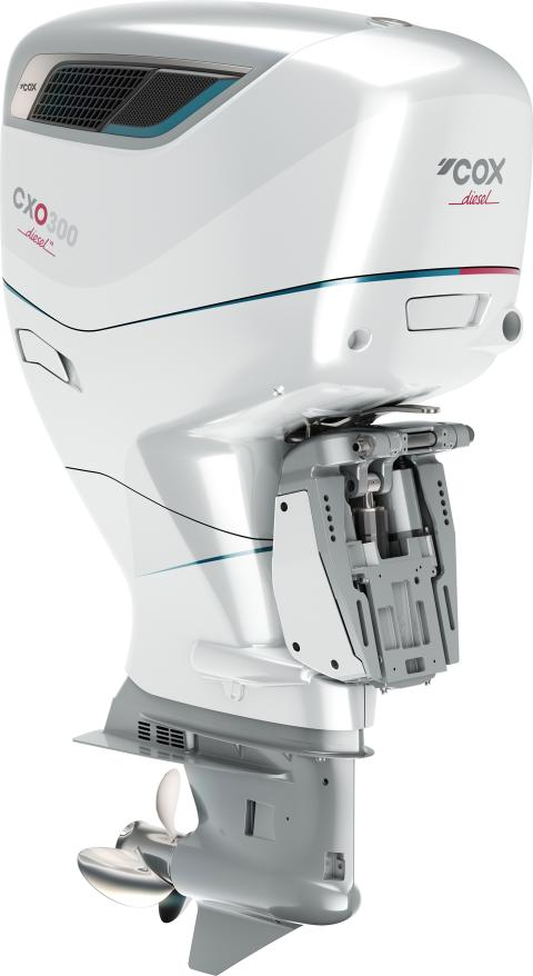 High res image - Cox Powertrain - CXO300 White