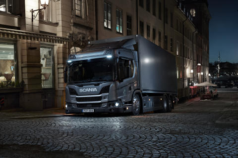 Scania Hybrid-Lkw: nachhaltig und vielseitig