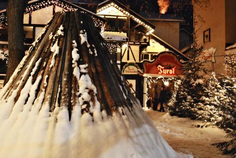 Nypremiär för Stockholms vildaste julbord