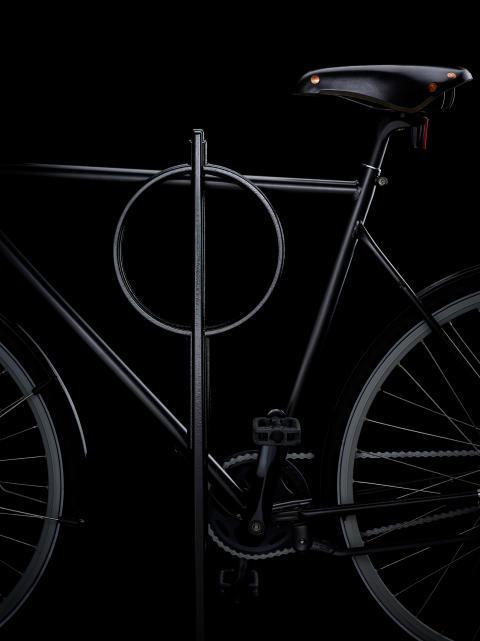 Cykelpollare i återvunnen aluminium kan få designpriset Design S. Visas på ArkDes 11 okt-27 nov