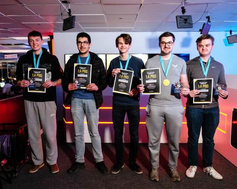 Congratulations Team Boysen from Täby – winner of the Sigma League of Legends Tournament