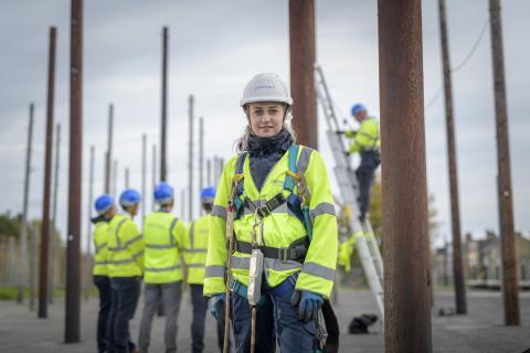 Openreach unveils £485,000 investment in Scottish training school