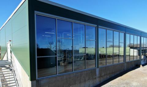 Nu invigs den fullskaliga anläggningen för läkemedelsrening i Simrishamn