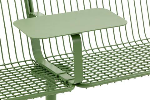 Detail, Korg furniture system, design Thomas Bernstrand.