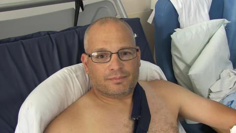 Interview with PC Tim Bradbury who was struck by stolen car in Littlehampton