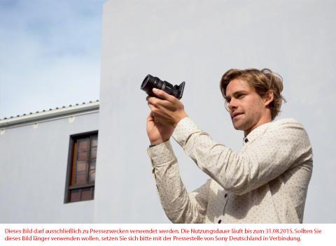 SmartShot QX1 von Sony: Das Smartphone wird zur Profi-Kamera mit Wechselobjektiven
