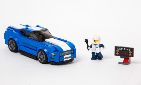 Nu kan du bygga Ford Mustang i LEGO