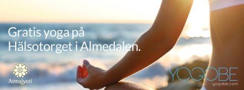 Yoga – för folkhälsan i Almedalen