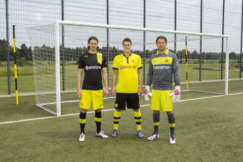 PUMA INTRODUCES ITS FIRST BORUSSIA DORTMUND KIT