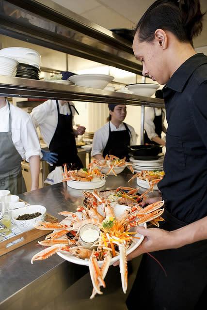 Gastronomiskt Forum servering