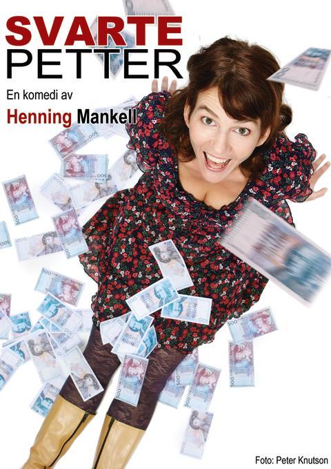 """Odenteatern """"Svarte Petter en komedi av Henning Mankell"""""""