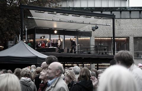 Takscenen Stadshallen Lund