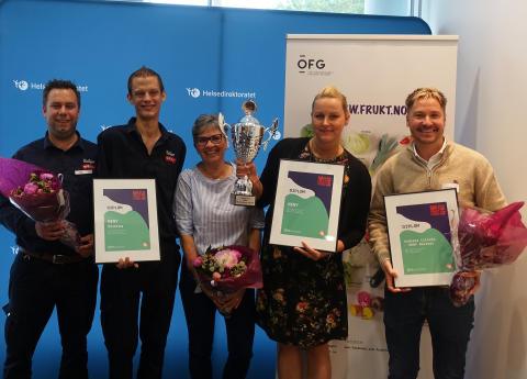 Her er årets norgesmestere i frukt og grønt