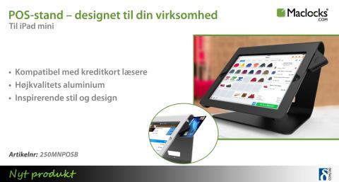 POS-stand til iPad mini – designet til din virksomhed