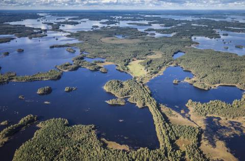 Sjön Åsnen - blivande nationalparksdestination