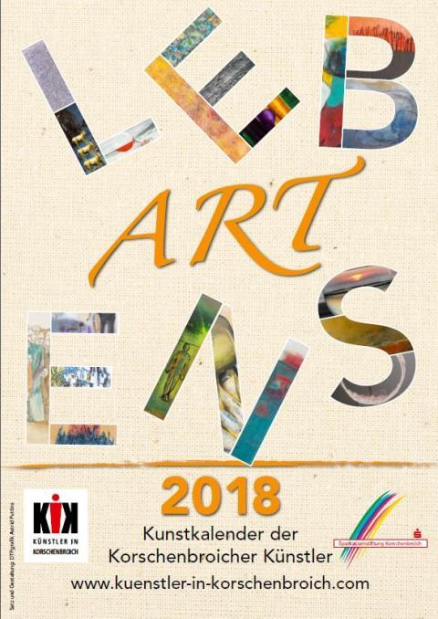 Einladung zur Ausstellung Korschenbroicher Künstler