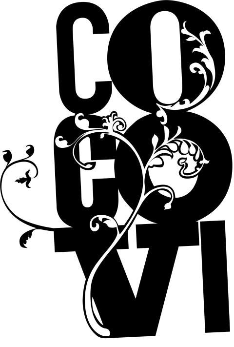 CocoVi Logo Svart