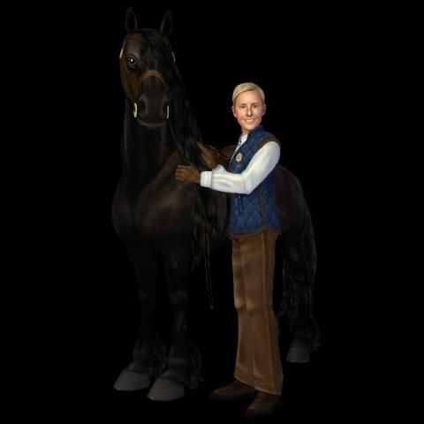 Tobbe Larsson gör YouTube-serie med Star Stable