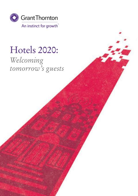 Hotels 2020: Welcoming tomorrow's guests