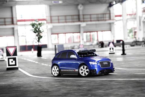 Audi Autonomous Driving Cup - modelbil