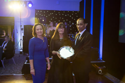 Mitie wins The Doreen Heyes Award at the 2017 BICSs Awards