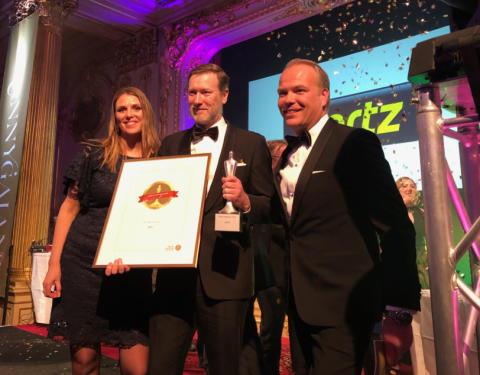 Hertz är Årets Nytänkare 2018