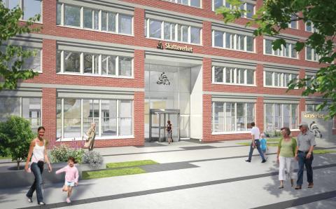 Veidekke Entreprenad, Region Bygg Syd bygger om Skatteverkets kontor i Malmö för 130 mkr
