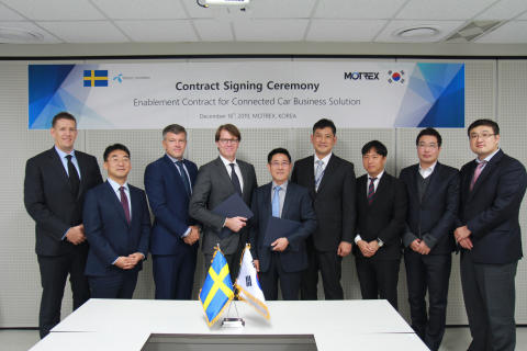 Motrex selects Telenor Connexion to its global in-car infotainment