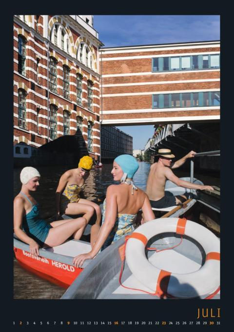 Kalenderblatt für Juli - Ehemalige Wollgarnfabrik Tittel & Krüger