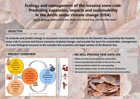 Snow crab project presented at shellfish symposium