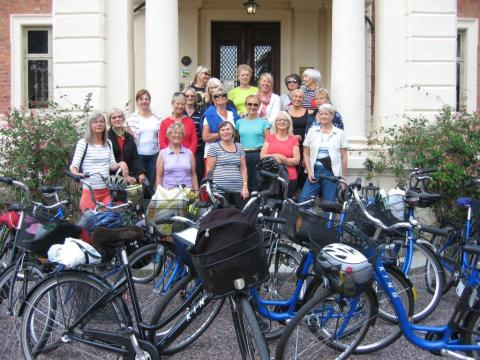 Slottsvinnare upplevde Skåne på cykel