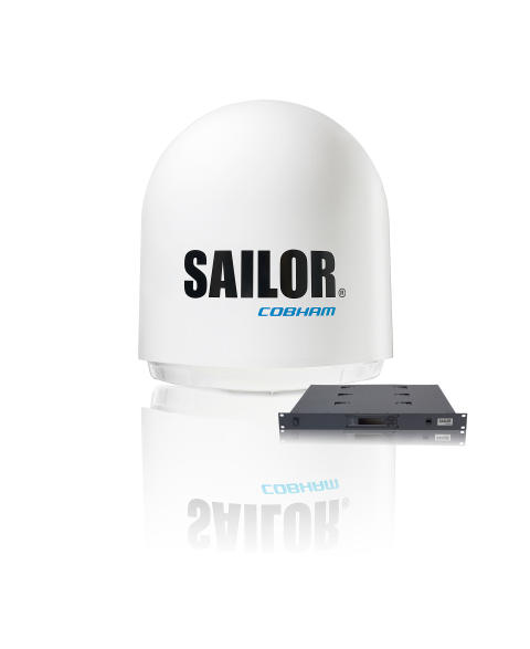 High res image - Cobham - Maritime - SAILOR 900 VSAT High Power