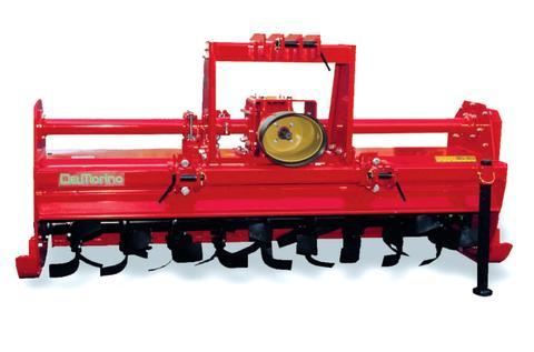 Traktorjordfräs