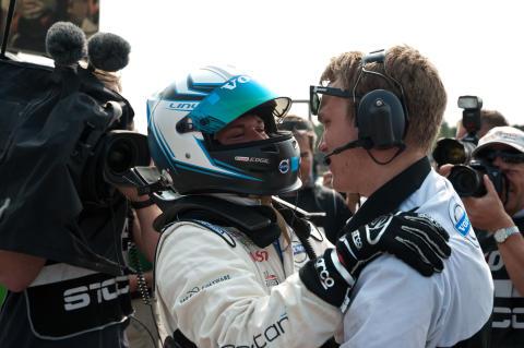 Dubbelseger för Volvo Polestar Racing i Falkenberg