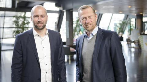 Stephen Parsli og Ove Fredheim