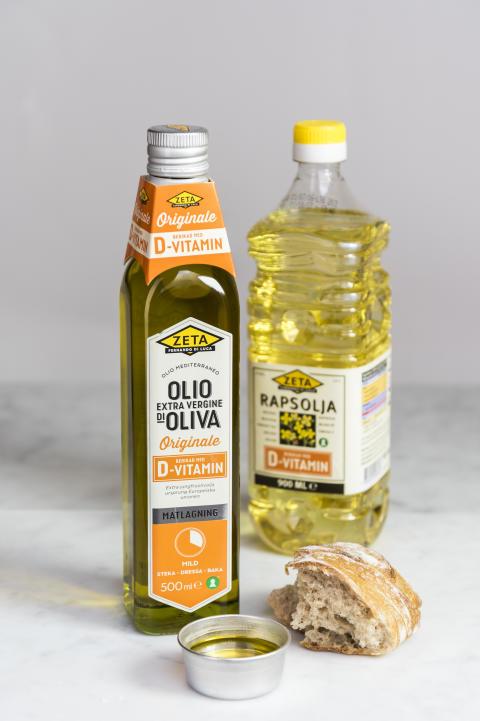 Zeta lanserar D-vitaminberikad olja