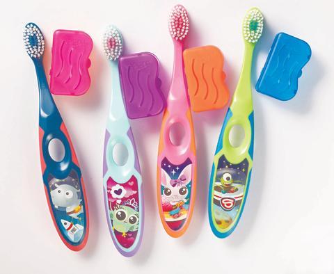 Jordan Step-by-step 3–5-vuotiaiden hammasharja