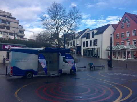 Beratungsmobil der Unabhängigen Patientenberatung kommt am 14. April nach Waiblingen.