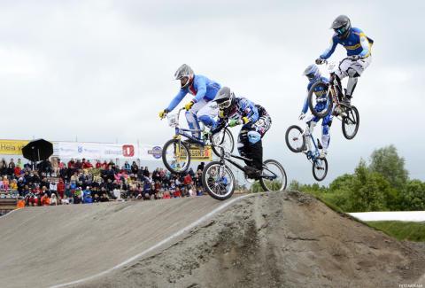 Succé för BMX-EM i Ängelholm