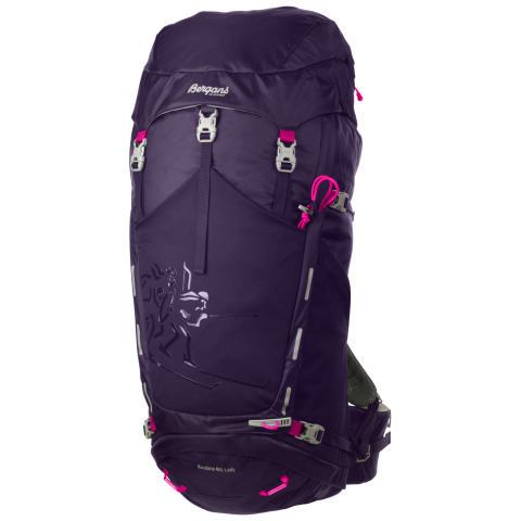Rondane 46 L Lady - Blackberry/Hot Pink