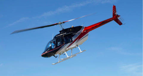 Falsterbo Horse Show: Flyg helikopter!