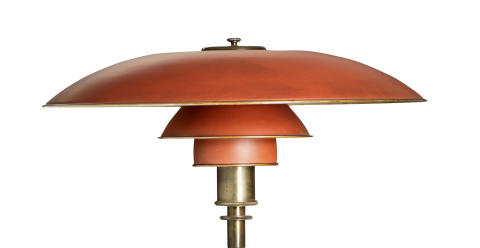 PH's first floor lamp at auction