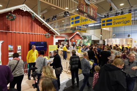 Sveriges monter på Grüne Woche 2019