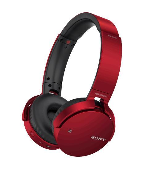 MDR-XB650BT de Sony_Rouge_01
