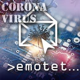 Hackare utnyttjade coronaviruset för att sprida skadlig kod