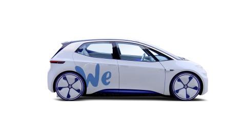Volkswagen lanserar bildelningstjänst med elbilar 2019