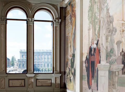 Fönster Nationalmuseum