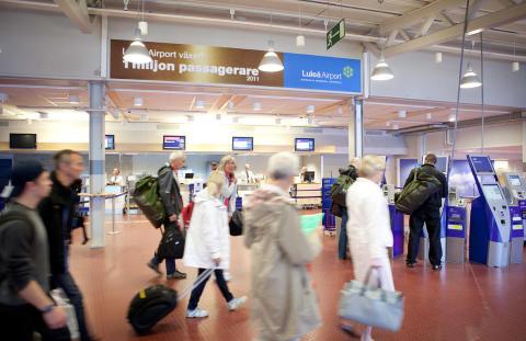 3 miljoner resenärer vid Swedavias flygplatser i september