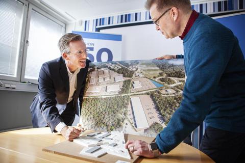 Presentation av visionen för Duveryndsområdet i Karlshamn