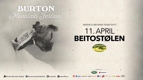 Burton Mountain Festival, Beitostølen tirsdag 11 april!